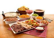 Comfort Food Care Package - Chicken & Steak Combo Fajitas (Feeds 4-6)