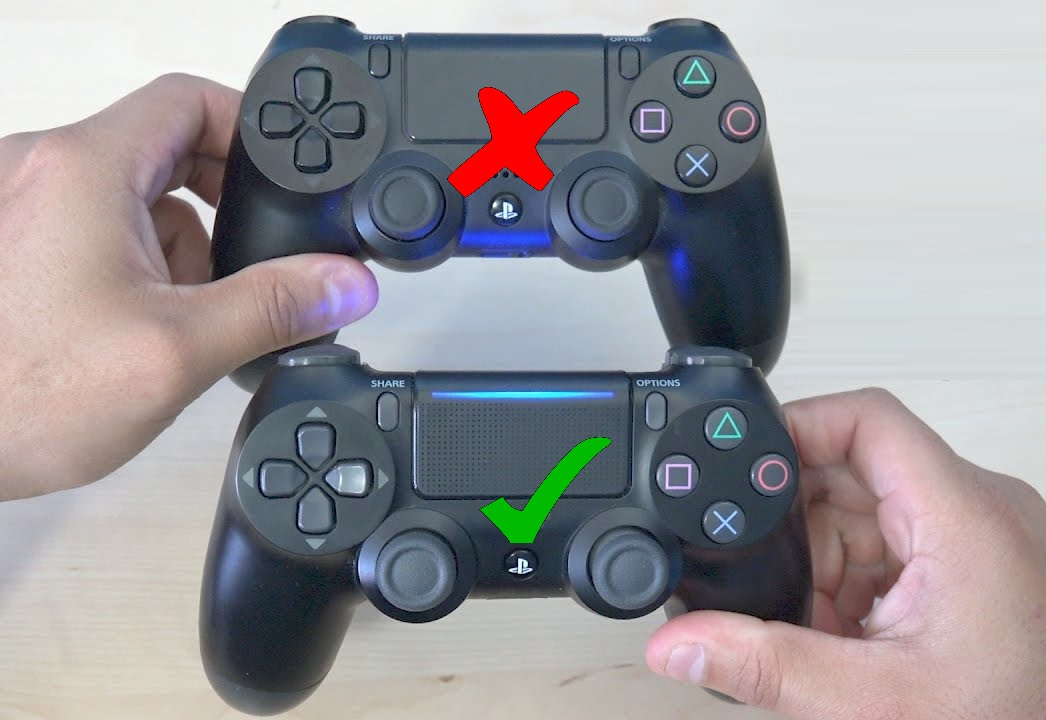 PS4 Controller Versions