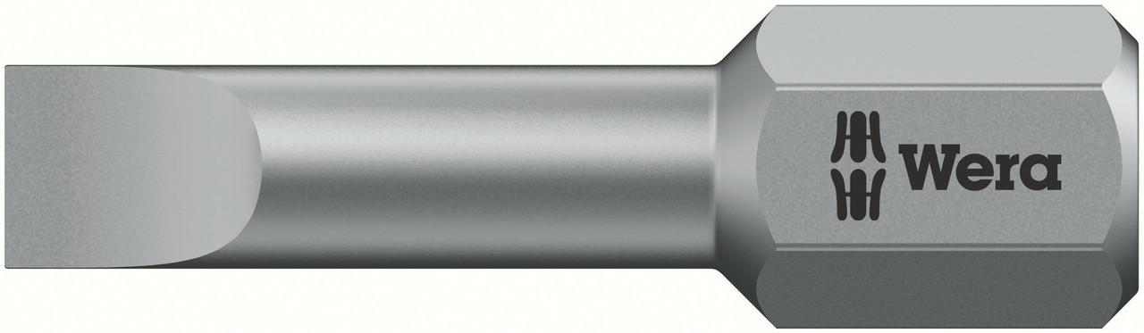 Wera 800-1 BTZ Puntas Planas 1 x 5.5 x 25 mm