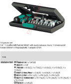 05056947001 WERA KRAFTFORM KOMPAKT 91 (18PC SET)
