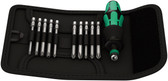 05059299001 WERA KRAFTFORM KOMPAKT 41 POUCH (11PC SET)