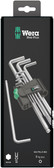 WERA 05073391001 950 PKL/9 SB LONG ARM HEX KEY SET