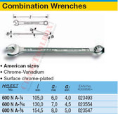 HAZET 600NA-1.1/4 COMBINATION WRENCH