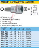 HAZET 8802-T50 TORX SCREWDRIVER SOCKET