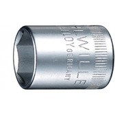 1010012 Stahlwille 40-12  1/4 Drive 6 Point Sockets 12mm
