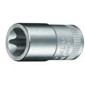 1270010 Stahlwille 40TX-E10  1/4 Drive Female Torx Sockets