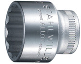 02010019S Stahlwille 45-19 3/8 Drive 12 Point SHORT