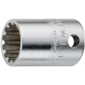 2011014 Stahlwille 45ASP-14 3/8 Drive Spline Sockets 7/16