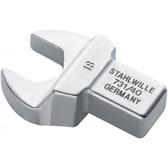 58214019 Stahlwille 731/40-19 Open End Insert Tool