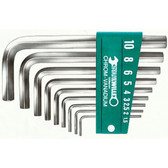 96435502 Stahlwille 10760ACV/13 SAE Hexagon Key Wrench Set
