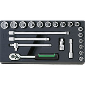 96838111 Stahlwille 3/8 Drive Tool Set in Tray
