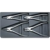 96838122 Stahlwille NR.6543-6546 Chrome Plier Set