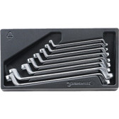 96838167 Stahlwille 20/8ES Deep Offset Wrench Set