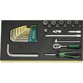96838176 Stahlwille TCS 1/4 Drive Socket/Hexagon Set