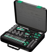 WERA 05160785001 8100 SA/SC 2 ZYKLOP ZYKLOP 1/2 AND 1/4 DR. SET 1