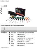05347105001 WERA XXL Screwdriver Set