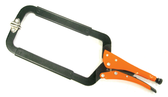 "GR22418 GRIP-ON 18""C-CLAMP W/SWIVEL TIPS"