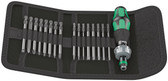 WERA 05051041001 KRAFTFORM KOMPAKT 60 RA IMPERIAL BITS ASSORTMENT