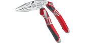 NWS 1406-49-200 Chrome Multi-Ergo 45 Pistol Grip Needle Nose with Stripper/Cutter/Crimper