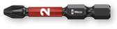WERA 05057656001 851/4 IMP DC PH 2 X 50 MM BITS FOR PHILLIPS SCREWS, IMPACT