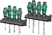 WERA 05105630001 KRAFTFORM BIG PACK SERIES 300 S/DRIVER SET  16 PCS W/Take it easy tool finder coloring