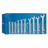 Gedore 6099000 Double ended midget spanner set 10 pcs 5-13 mm 8-0100