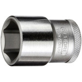 "Gedore 6131690 Socket 1/2"" 22 mm 19 22"