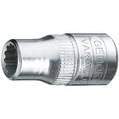 "Gedore 6226720 Socket 1/4"" 14 mm D 20 14"