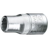 """Gedore 1812521 Socket 1/4"""", 1/4"""" D 20 1/4AF"""