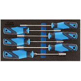 Gedore 2309122 Socket wrench set in 1/3 CT module 1500 CT1-2133