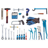 Gedore 2319896 Sanitary tool assortment STARTER, 49 pcs S 1025