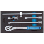 """Gedore 2309106 Accessories for socket wrenches 1/2"""" in 1/3 CT module 1500 CT1-1993 T"""