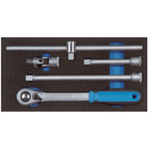 """Gedore 2309114 Accessories for socket wrenches 1/2"""" in 1/3 CT module 1500 CT1-1993 U-20"""