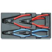 Gedore 1402196 Circlip pliers in 1/3 ES tool module 1500 ES-8000