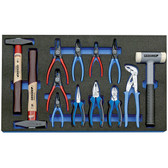 Gedore 2016303 Tool set in 4/4 CT tool module, 13 pieces 2005 CT4-8000