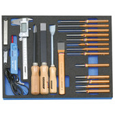 Gedore 2016338 Tool set in 2/4 CT tool module, 22 pieces 2005 CT2-119