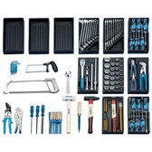 Gedore 6617320 Tool panel with assortment 1400 G-1450-2