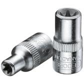 "Gedore 6193880 Socket 1/4"" TORX E4 TX 20 E4"