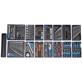 Gedore 2657708 Tool assortment with tool trolley 1500 ES-02-2004