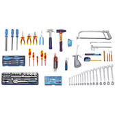 Gedore 1999060 Tool assortment for mechatronics 120 pieces S 1023
