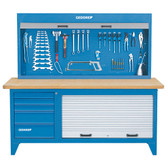 Gedore 6618210 Workbench with tool cabinet BR 1500 LH