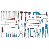 Gedore 2319888 Sanitary tool assortment PROFI, 62 pcs S 1024
