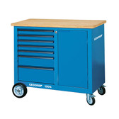 Gedore 6623050 Mobile workbench with 7 drawers and vice 1504 0511 S