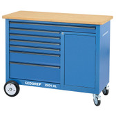 Gedore 1988468 Mobile workbench, 1.25 m wide 1504 XL