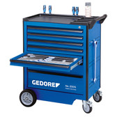 Gedore 2827379 Tool trolley with individual drawer blocking 2005 0511 E