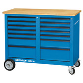 Gedore 2528088 Mobile workbench, 1.25 m wide, with 14 drawers 1506 XL 2511