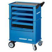 Gedore 6627550 Tool trolley with 4 drawers 1580