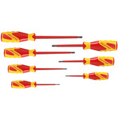 Gedore 1616048 VDE Screwdriver set 7 pcs IS 2.5-6.5 PH 0-2 VDE 2170-2160 PH-077
