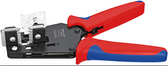 Knipex 12 12 13 Precision Insulation Strippers with adapted blades 10-20 AWG