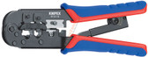 97 51 10 Knipex 7.5 inch CRIMPING PLIERS - WESTERN PLUG TYPE